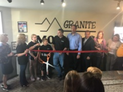 Granite Mountain New Lenox location grand opening ribbon cutting