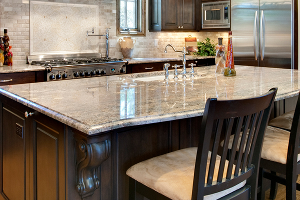 Granite, quartz and marble countertops at Granite Mountain.