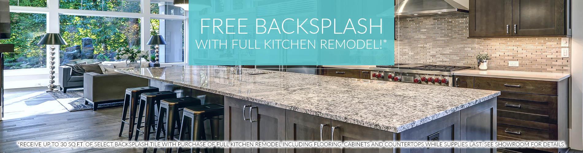 Free Tile Backsplash with Full Kitchen Remodel!* - Bourbonnais, Il ...