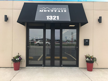 Come check out Granite Mountain's flooring, countertop & cabinetry showroom at 1321 N. Arthur Burch Dr.  Bourbonnais, IL 60914