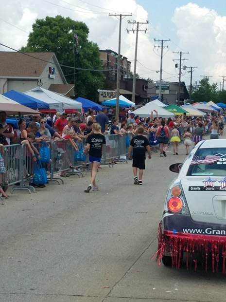 Granite Mountain is a proud supporter of our local communities including participation in Mokena's Parade.