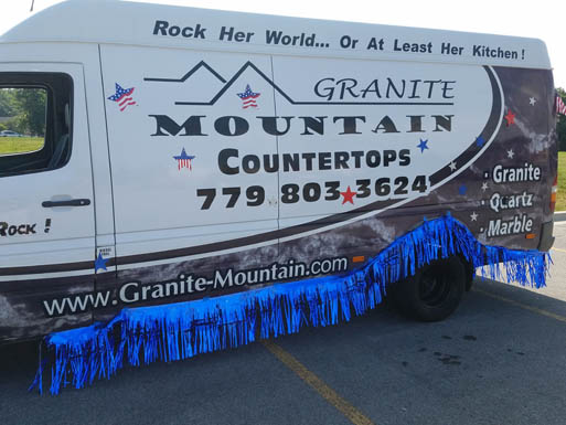 Granite Mountain Mokena Parade Van