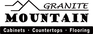 Granite Mountain Logo - Cabinets - Countertops - Flooring