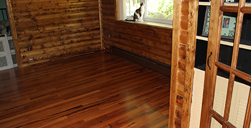 Hardwood Flooring by Granite Mountain.
