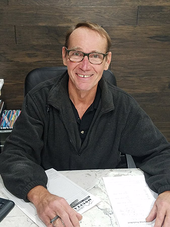 At Granite Mountain we have expertly trained designers on staff including Robert Braam who is our in-house full time cabinet designer.