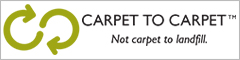 Carpet to carpet, not carpet to landfill.